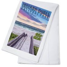 Load image into Gallery viewer, indiana dunes national park towel