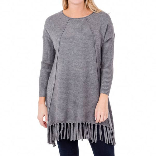 joelle tunic dark gray