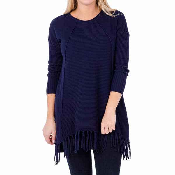 joelle tunic navy