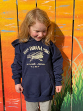 Load image into Gallery viewer, keep indiana corny youth hoody