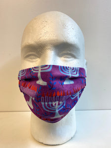 kids menorah face mask inrugco