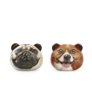 kikkerland dog stress balls