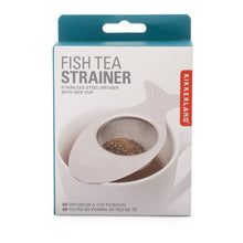 Load image into Gallery viewer, kikkerland tea strainer fish