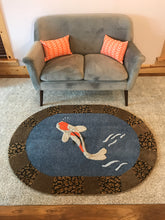 Load image into Gallery viewer, Koi Fish Area Rug - InRugCo Studio & Gift Shop