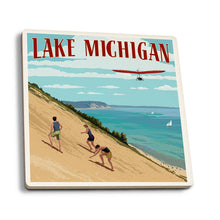 Load image into Gallery viewer, Lake Michigan coaster
