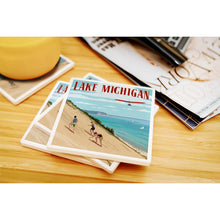 Load image into Gallery viewer, Lake Michigan dunes coaster