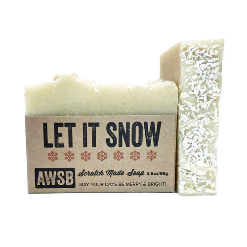 Let It Snow - Holiday Bar Soap | A Wild Soap Bar