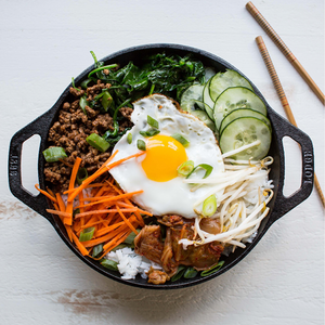 9 Inch Cast Iron Mini Wok | Lodge - InRugCo Studio & Gift Shop