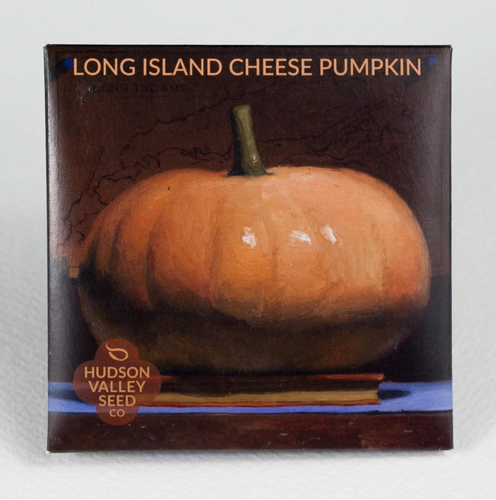 Long Island cheese pumpkin Hudson valley seed co