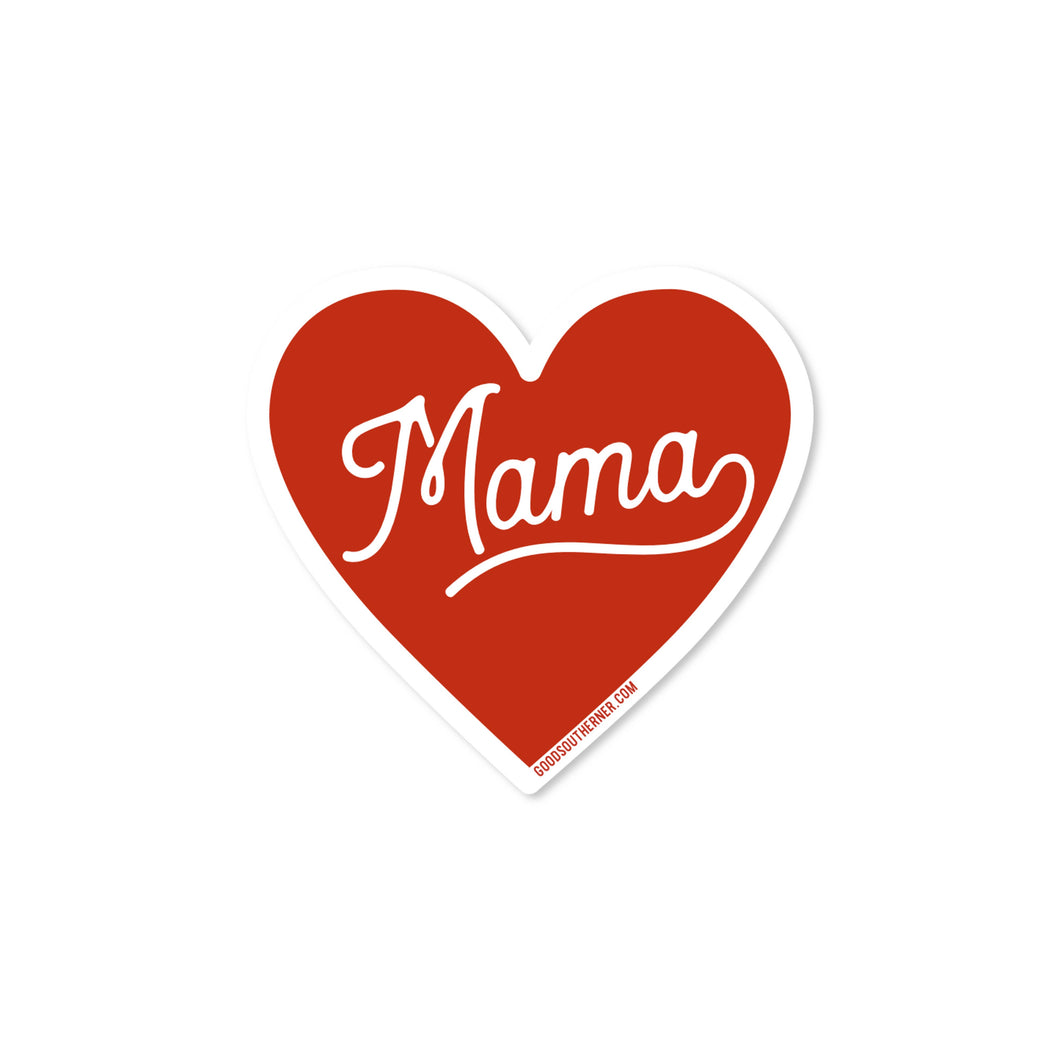 Love Mama Sticker | Good Southerner - InRugCo Studio & Gift Shop