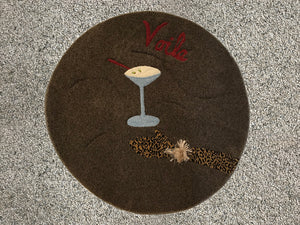 Martini Area Rug - InRugCo Studio & Gift Shop