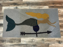 Load image into Gallery viewer, Mermaid Weathervane Area Rug - InRugCo Studio & Gift Shop