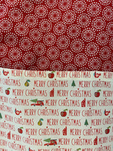 Load image into Gallery viewer, merry Christmas apron inrugco handmade