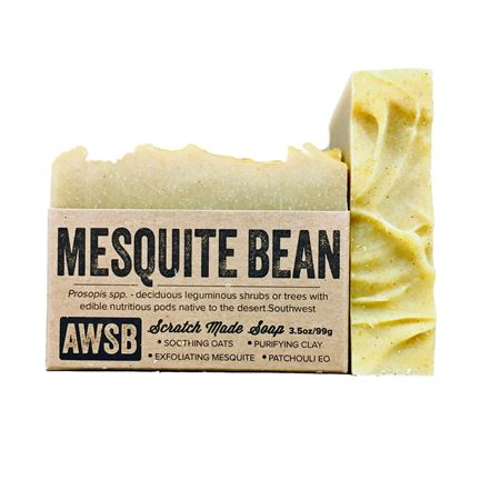 mesquite bean soap a wild soap bar