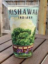 Load image into Gallery viewer, Mishawaka, IN Riverwalk Pint Glass | 16 oz.