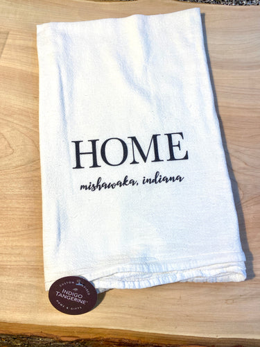 Mishawaka Indiana tea towel