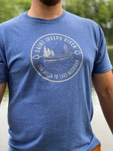 Load image into Gallery viewer, Saint Joseph River to Lake Michigan Shirt - InRugCo Studio & Gift Shop