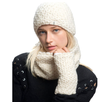 Load image into Gallery viewer, nirvana designs merino beanie model