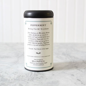 Oliver pluff and company peppermint tea