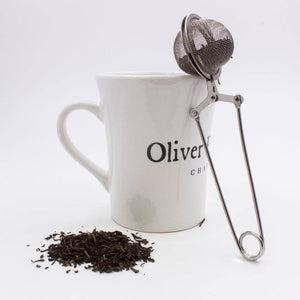 Oliver pluff tea brewing ball