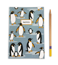 Load image into Gallery viewer, penguin notebook journal the imagination spot