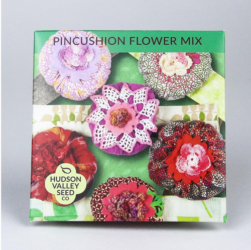 Pincushion Flower Mix | Hudson Valley Seed Co. - InRugCo Studio & Gift Shop