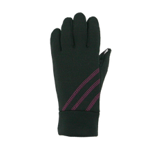 Load image into Gallery viewer, pink wicking fleece glove women