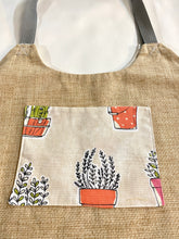 Load image into Gallery viewer, Plants & Funky Planters Market Bag - InRugCo Studio & Gift Shop