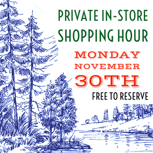 private shopping hour November 30