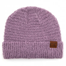 Load image into Gallery viewer, purple cc beanie
