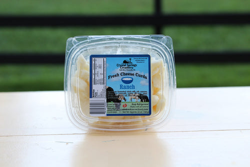 Ranch Cheese Curds | Crystal Springs Creamery - InRugCo Studio & Gift Shop