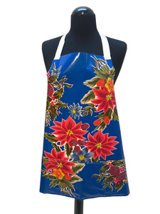 Red Hibiscus Flower Oil Cloth Apron - InRugCo Studio & Gift Shop