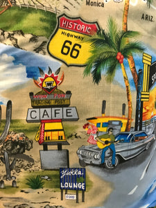 Route 66 Highway Apron - InRugCo Studio & Gift Shop