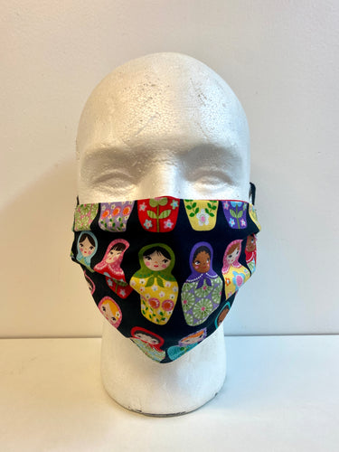 Russian dolls face mask