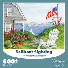 Load image into Gallery viewer, sailboat sighting puzzle