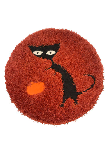 Scaredy Cat Area Rug - InRugCo Studio & Gift Shop