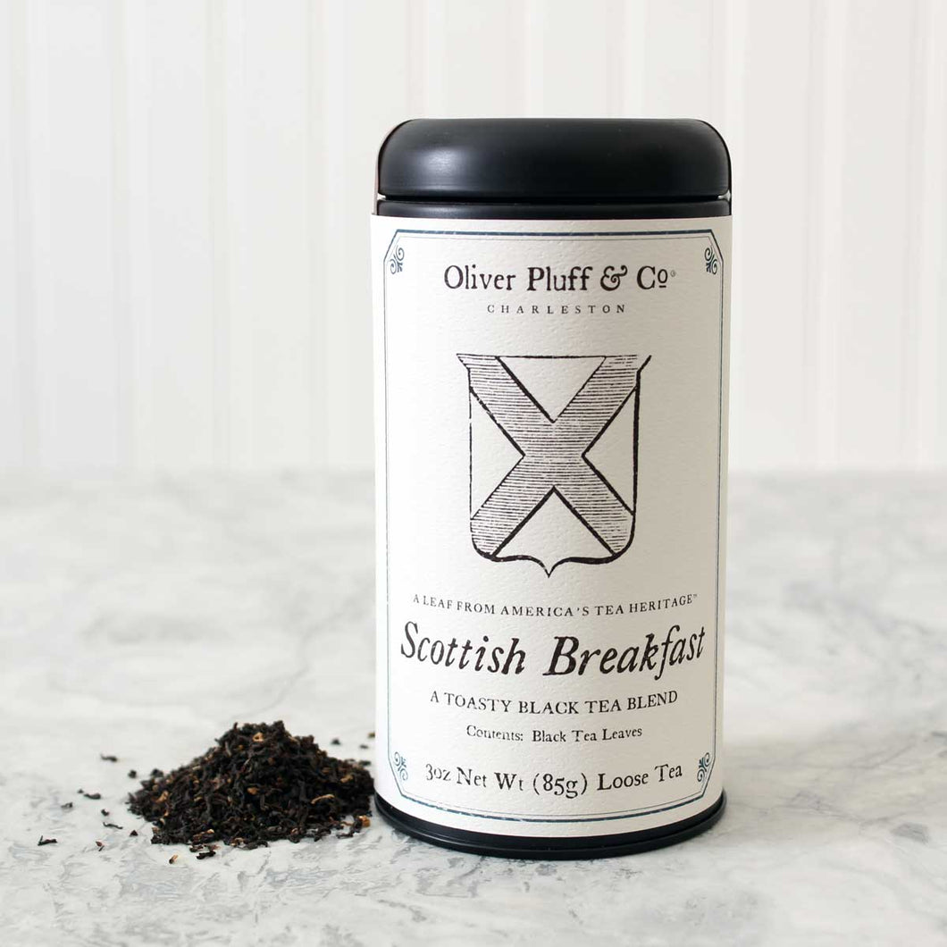 Scottish Breakfast Tea - Loose Tea | Oliver Pluff & Co. - InRugCo Studio & Gift Shop