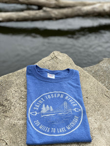 Saint Joseph River to Lake Michigan Shirt - InRugCo Studio & Gift Shop