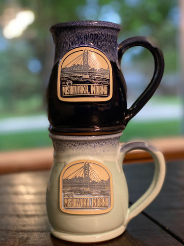 Mishawaka Indiana Coffee Mug | Hand Thrown Pottery - InRugCo Studio & Gift Shop