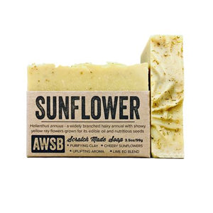 Sunflower Soap | A Wild Soap Bar - InRugCo Studio & Gift Shop