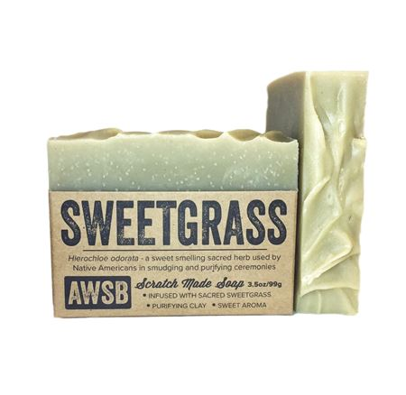 Sweetgrass Soap | A Wild Soap Bar - InRugCo Studio & Gift Shop