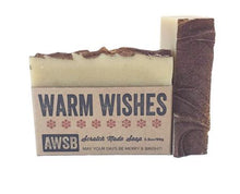 Load image into Gallery viewer, warm wishes a wild soap bar