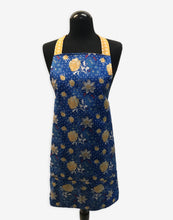 Load image into Gallery viewer, Blue & Yellow Flowers Apron - InRugCo Studio & Gift Shop