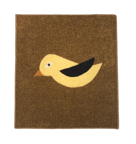 Yellow Bird Area Rug