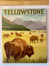Load image into Gallery viewer, Yellowstone national park wall art