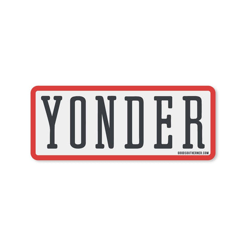 Yonder Sticker | Good Southerner - InRugCo Studio & Gift Shop