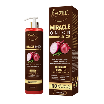 Dazel - Miracle Onion Hair oil 200Ml - dazel-the-skin-pulse