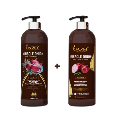 Dazel Hair care Combo (Shampoo+ Conditioner) - dazel-the-skin-pulse