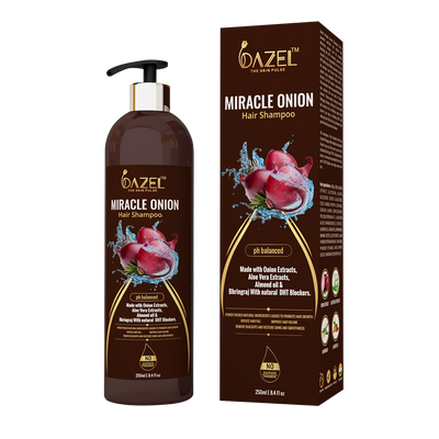 Dazel - Miracle Onion shampoo 250Ml - dazel-the-skin-pulse