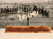 Welcome To The Farmhouse Cedar Wood Sign-group of home decor products